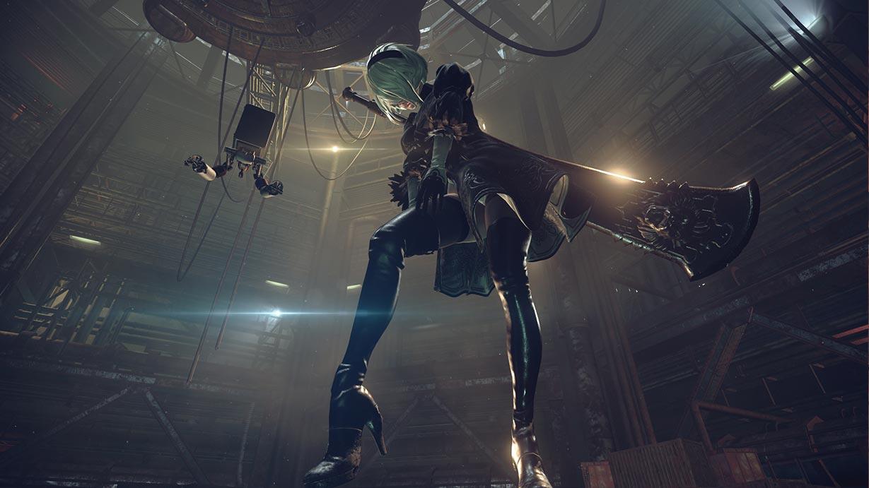 PS5速報!【ニーアオートマタ】周回で操作キャラクター変わるの?