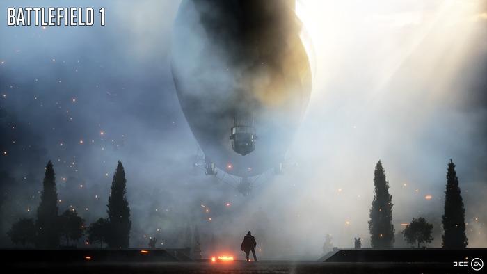 バトルフィールド1:巨大飛行船