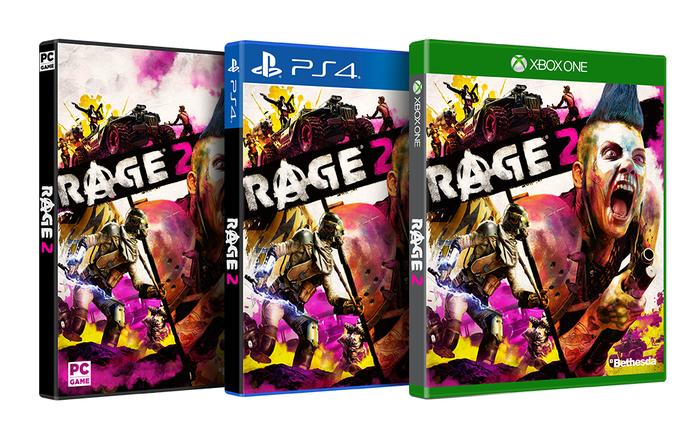 RAGE 2:パッケージ