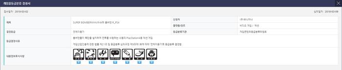 韓国公的レーティング審査機関GRAC