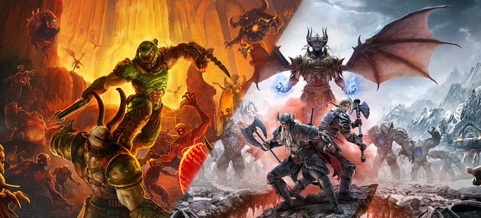 『DOOM Eternal』『The Elder Scrolls Online』PS5/Xbox Series X版の発売が決定!現行機版所有者には無料アップグレード対応