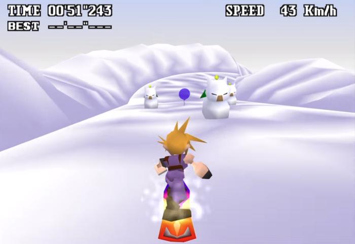 FF7:スノーボード