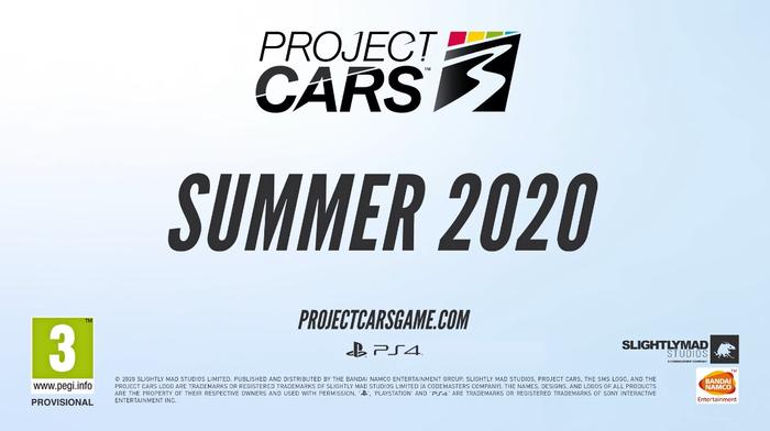 プロジェクトカーズ3_TOP