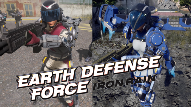 EARTH DEFENSE FORCE: IRON RAIN(2)