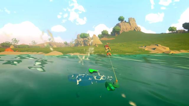 Yonder:釣り