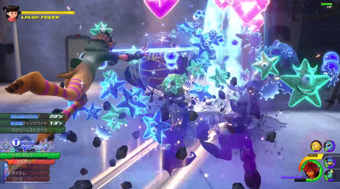 KH3:バトルシステム