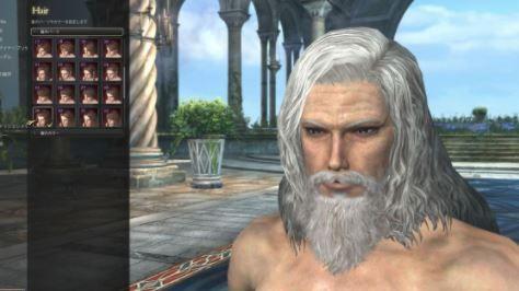 キャラクリ 髭