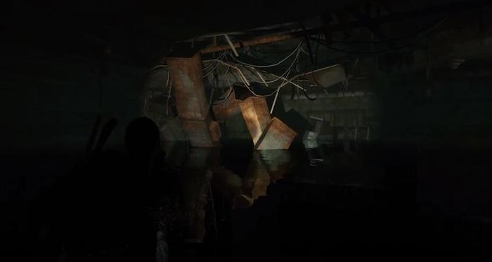 ホテル地下