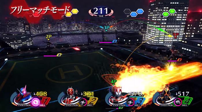 仮面ライダークライマックスファイターズ5