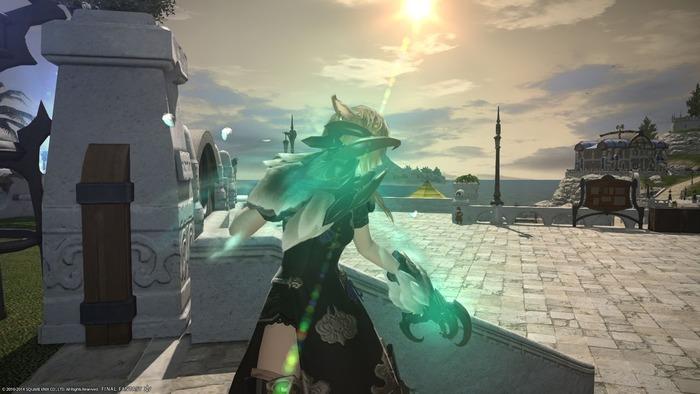 【FF14】ガル武器光らせてみたけど他の蛮神武器と比べると微妙じゃね?