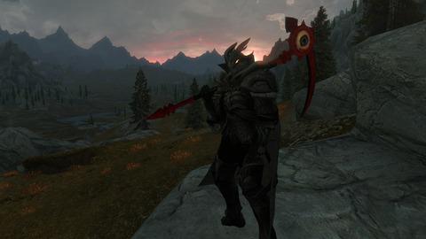 暗黒騎士をイメージしました