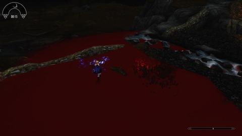 血の池を作ります