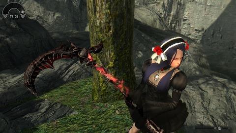 剣の付呪をしても柄にしかオーラが乗りません。