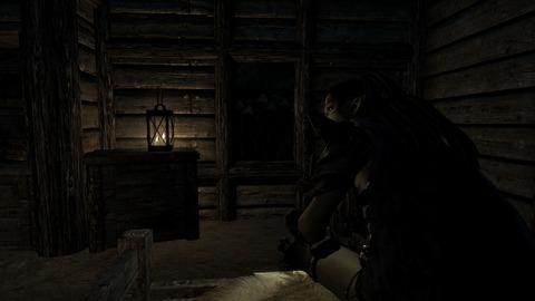 夜の静けさに