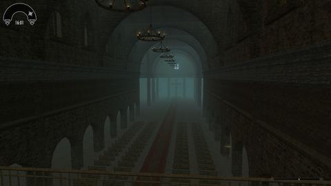 聖堂の中身。広いです