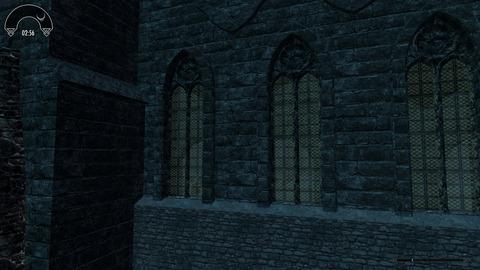 聖堂の外から
