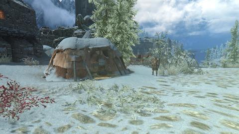 雪の中のカジートキャラバン