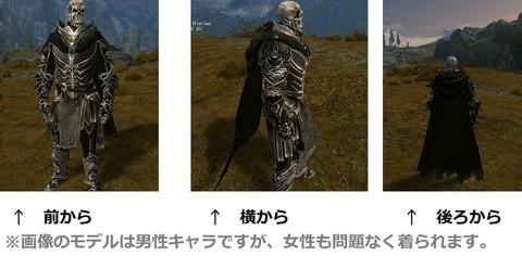 骸骨の騎士の鎧