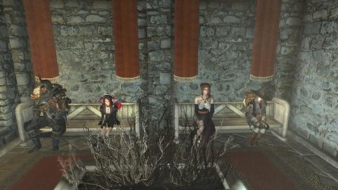 最後に、プレイヤー時の服装を再現して記念撮影