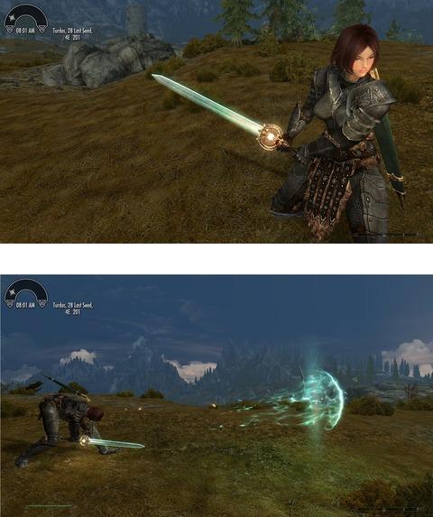 月明かりの大剣2