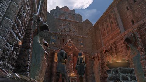 石造りの宮殿