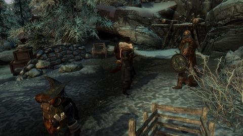 鉱山の守りを担いし兵士