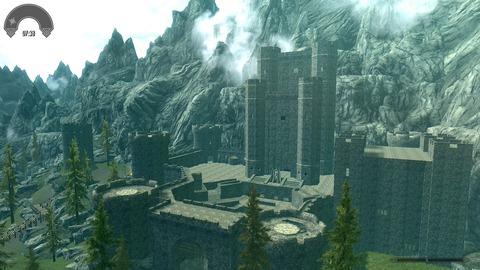 ドラゴンズドグマっぽい要塞みたいな城