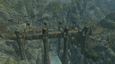 足の長い石橋