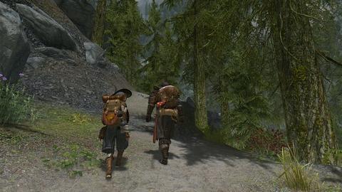 山道の行脚、再び