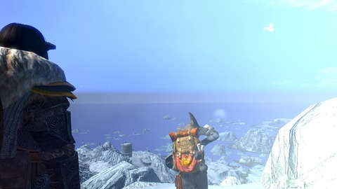 幽霊海と地平線
