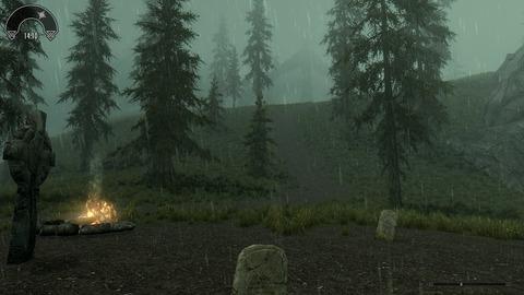 死の谷には何故か常に雨が降り注ぐ