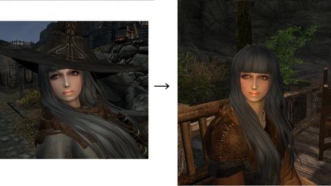 ベリー・ベリーの変更比較。大差ないですけど……