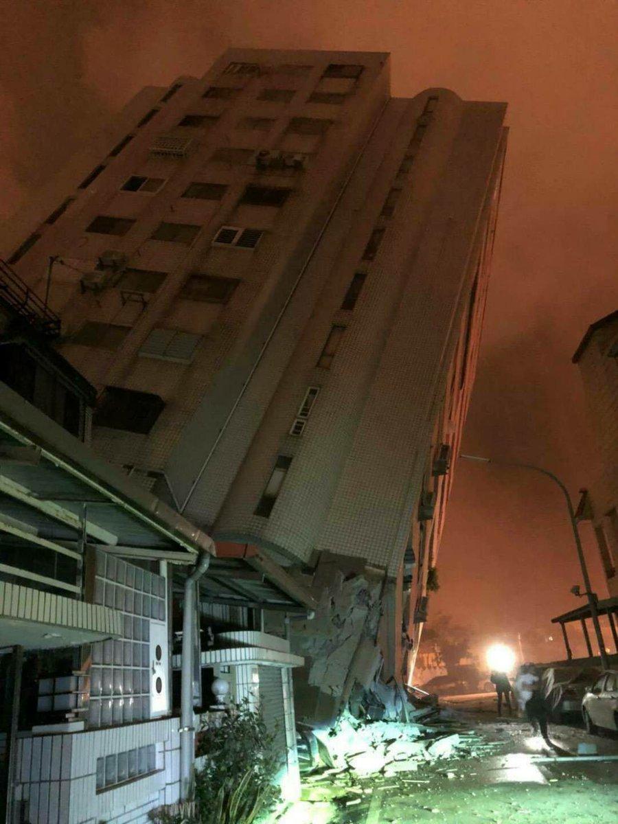 中国四川省でM6の大地震建物倒壊、負傷者多数