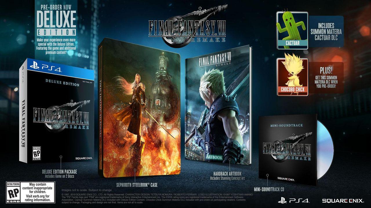 『ファイナルファンタジー7リメイク』分作はミッドガル編Blu-ray2枚組のボリューム #分作商法