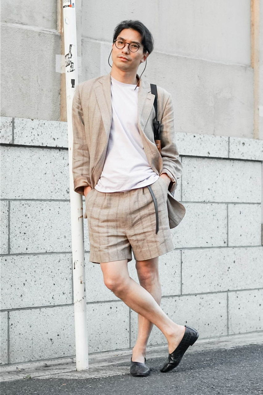 渋谷で最新のミドルファッションがスナップされる