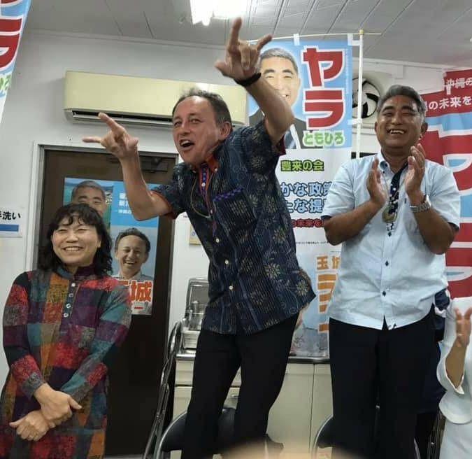 沖縄の玉城デニー知事「基地問題を訴えるため全国行脚します」