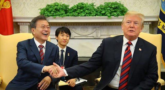 文「トランプさん、日本の帰りにちょっとだけ韓国に寄って」……恥ずかしい会話を暴露した議員を告発