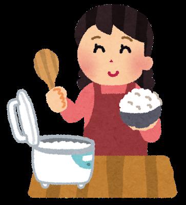 ご飯を炊く、という宿題を子どもは