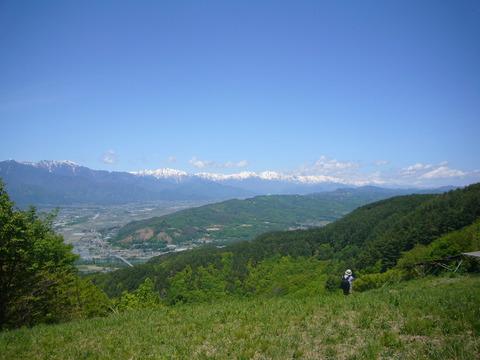 愛知の山頂