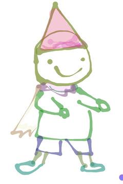 三角帽子の小人