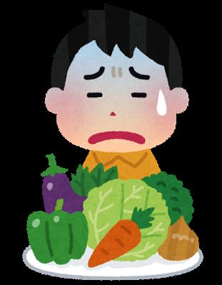 「うちの子、野菜を食べないんですけど、大丈夫でしょうか」