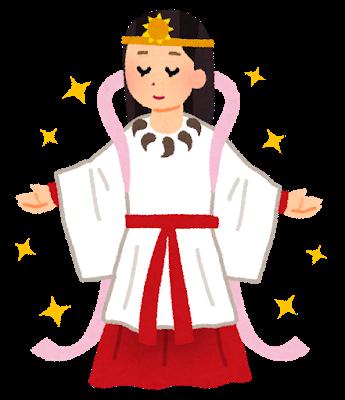 8月15日に神社へ行く