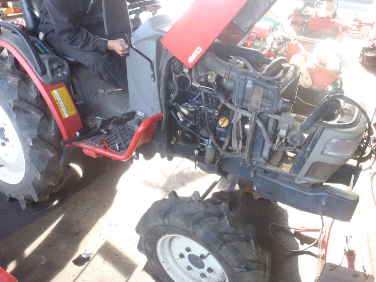 ヤンマートラクター F250修理 : 有木機工(鹿児島)の中古農機・修理情報