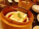 エビすり身の豆腐蒸し