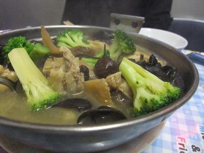 天龍菜館 鶏鍋