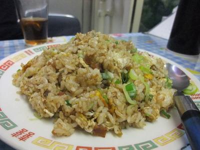 天龍菜館 チャーハン