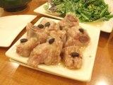 スペアリブ黒豆蒸し