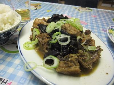 天龍菜館 百合と鶏肉