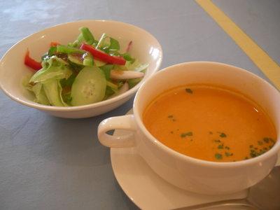 スパルタ サラダとスープ