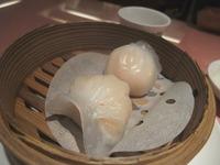 菜香蝦餃子